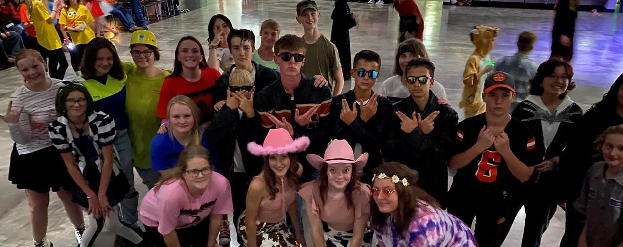 Middle School Halloween Dance