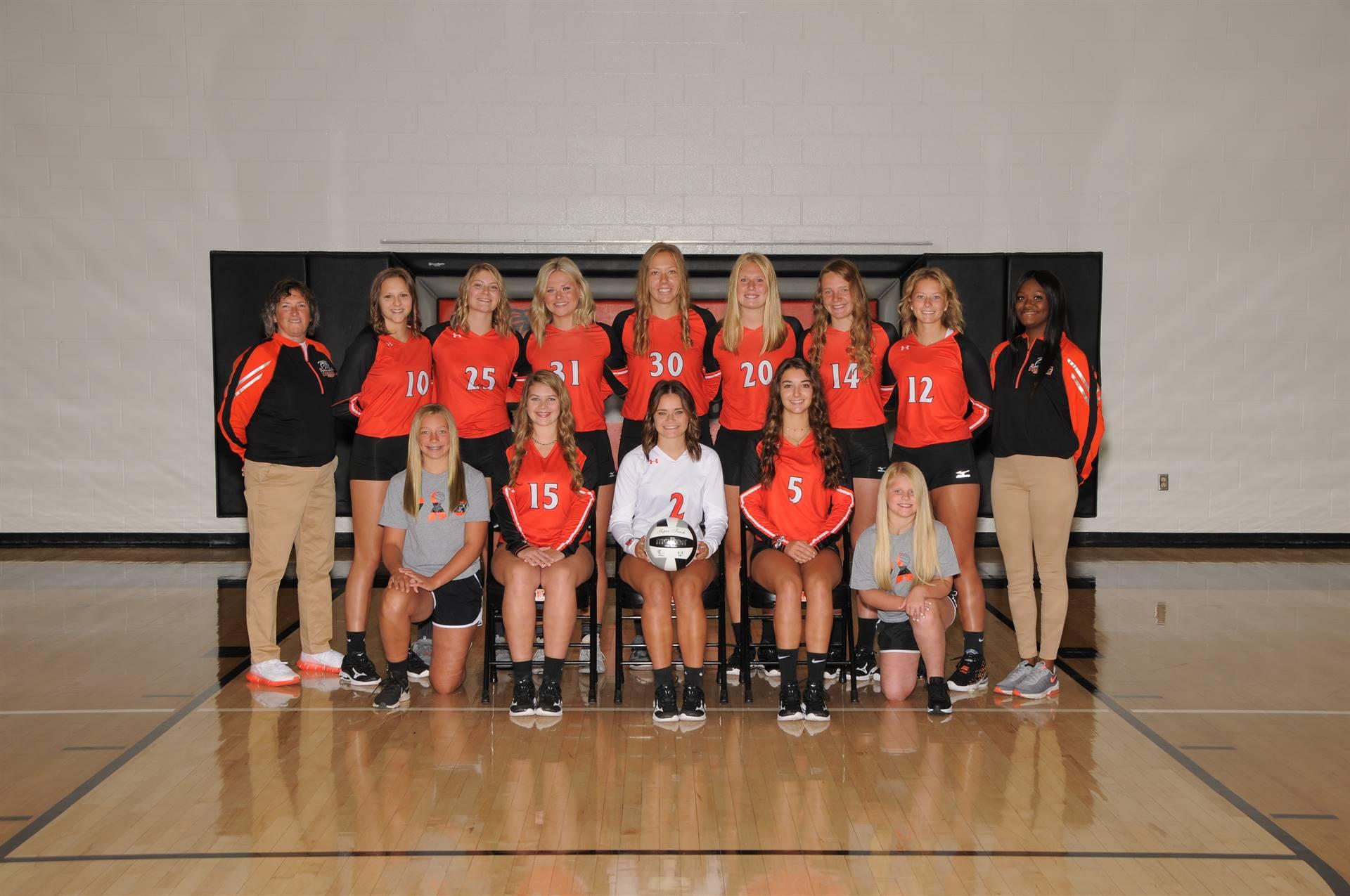 Varsity Volleyball Team 2021